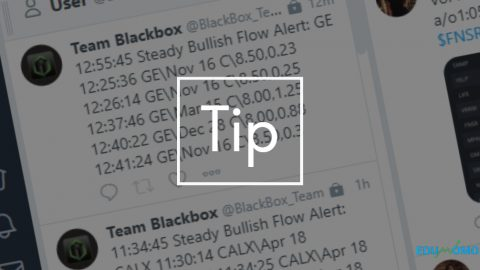Tip:  How to setup Black Box Stocks twitter feed on TweetDeck